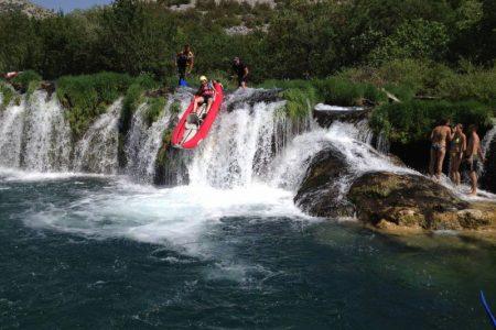 Fiume Zrmanja percorso in Kayak