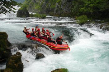 Rafting on the Una River